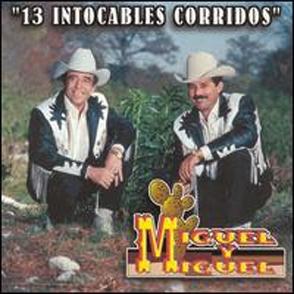 Album 13 Intocables Corridos