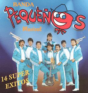 Album 14 Super Exitos de Banda Pequeños Musical
