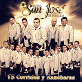 Album 15 Corridos Y Rancheras de Banda San Jose de Mesillas