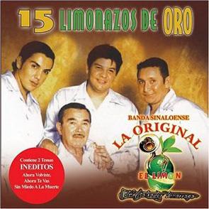 Album 15 Limonazos De Oro