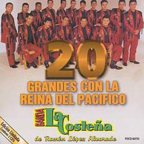 20 Grandes Con La Reina Del Pacífico (1998)