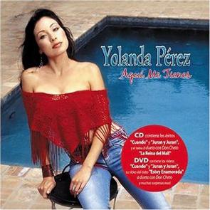 Album Aquí Me Tienes de Yolanda Pérez