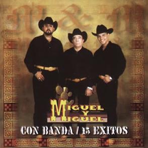 Album Con Banda 15 Éxitos