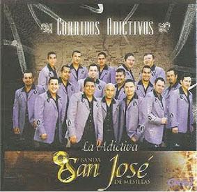 Album Corridos Adictivos de Banda San Jose de Mesillas