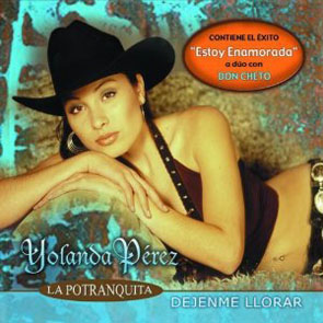 Album Déjenme Llorar de Yolanda Pérez