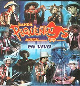 Album En Vivo de Banda Pequeños Musical
