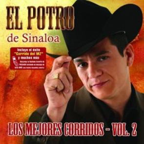 Album Los Mejores Corridos Vol 2 Del Potro De Sinaloa