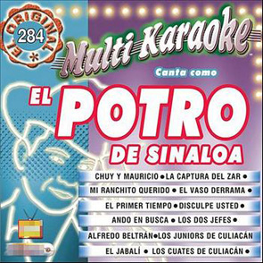Album Multi Karaoke (Canta Como El Potro De Sinaloa)