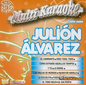 Album Multi Karaoke, Canta Como Julión Álvarez