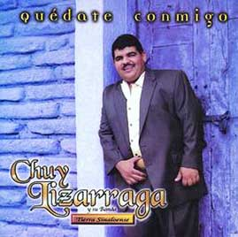 Album Quedate Conmigo de Chuy Lizarraga