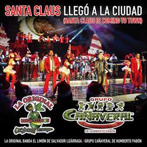 Album Santa Claus Llegó A La Ciudad, La Original Banda El Limón Y El Grupo Cañaveral De Humberto Pabón
