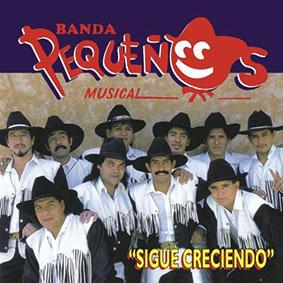Album Sigue Creciendo de Banda Pequeños